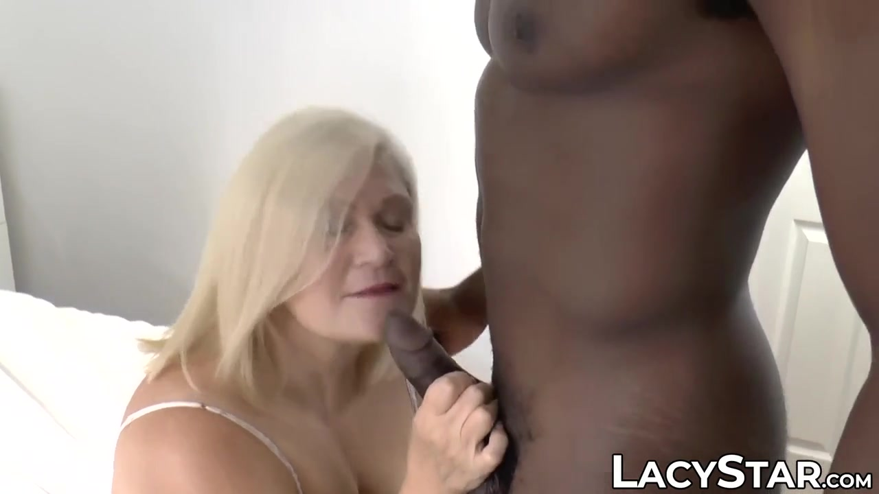 Blondes Screwing multiracial screwing for mature ash-blonde grandmother with