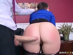 Lola Foxx The Office Slut Needs A Hard Cock In Her Ass