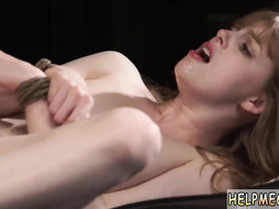 Teen fucks girl first time physical domination through