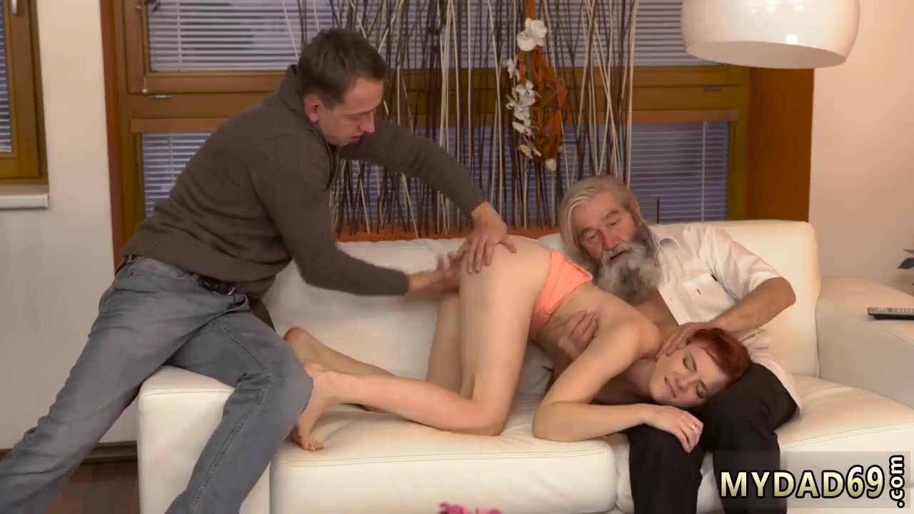 German Old Young Threesome 'german mature anal