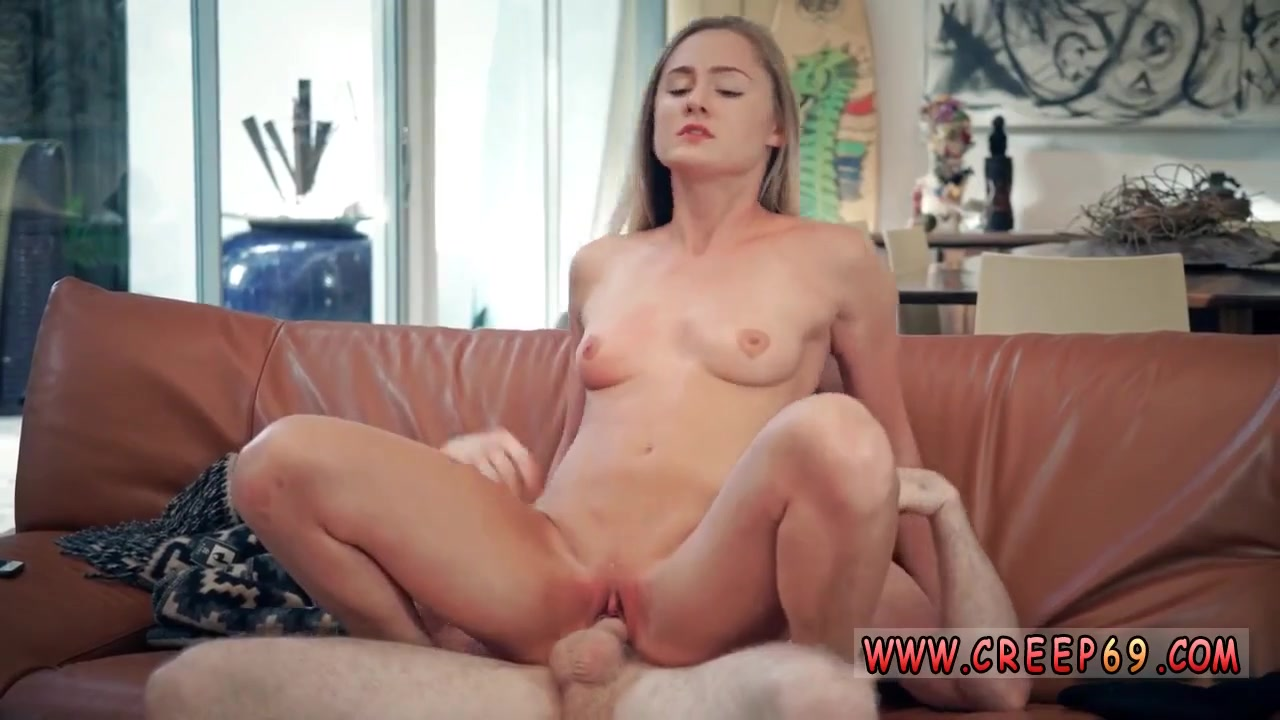 Tiny Blonde Teen Masturbating