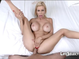 POV Style Fuck for this hot and horny Blonde MIlf
