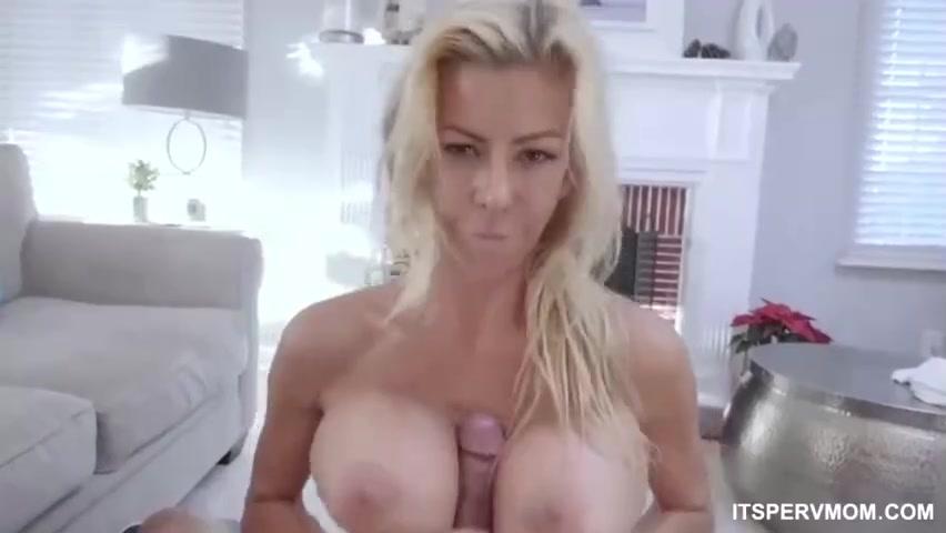 Blonde Milf Throat Fuck