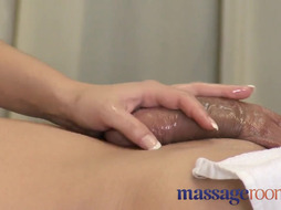 Rubdown Bedrooms Stunning buxomy physician gives him great ejaculation