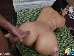 Stellar Xxl Bum Latina Maid Get Donk Loaded With Jizm In POINT OF VIEW
