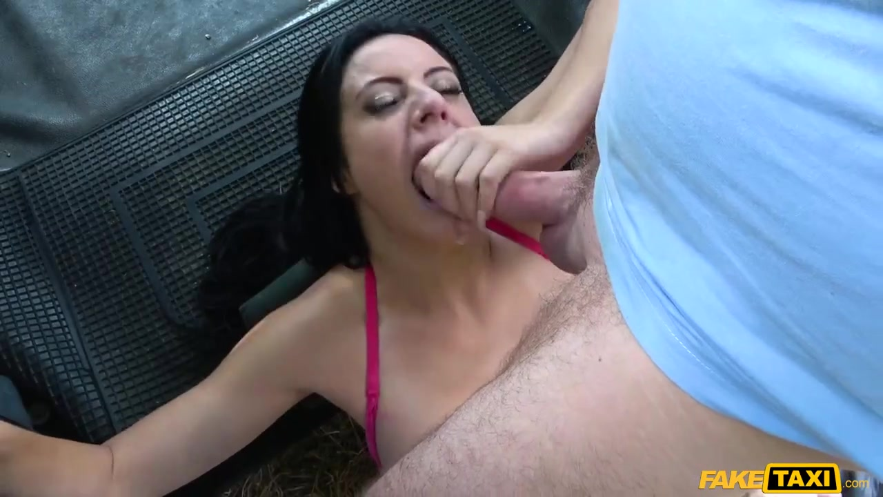 Amateur sister gives brother handjob